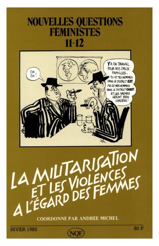 Nouvelles questions feministes La militarisation et les violences à l'égard des femmes