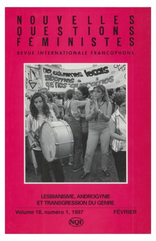 Nouvelles questions feministes Lesbianisme, androgynie et transgression du genre