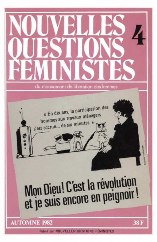 Nouvelles questions feministes Mon Dieu! C'est la révolution et je suis encore en peignoir !